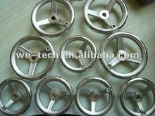 stainless steel handwheel with spokes