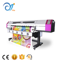 Big Format Galaxy UD Indoor Outdoor Continuous Ink Jet Eco Solvent Inkjet Printer With Epson DX5 Printhead For Vinyl Film