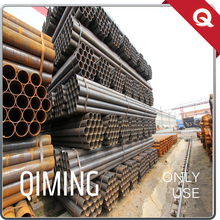 Tianjin factory cold rolled iron round welded black carbon steel pipe price