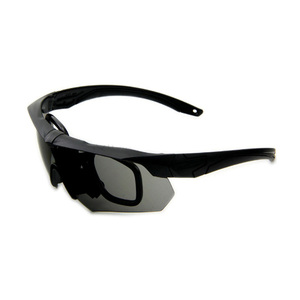 b8e5c059a9 Anti-Impact Anti-Fog Uv400 Protective Sport Shooting Hunting Tactical  Ballistic Goggles Military Eyeshield