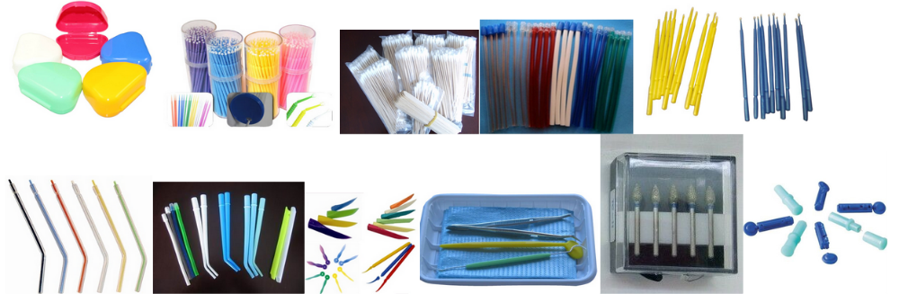 Dental Supplies, disposable medical dental prophy angle, dental disposable consumables