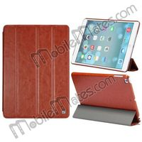 HOCO Retro Multi-View Angle Flip Fold Leather Case For iPad Air 5 with Wake Sleep Function, Smart Leather Stand Cover for iPad 5