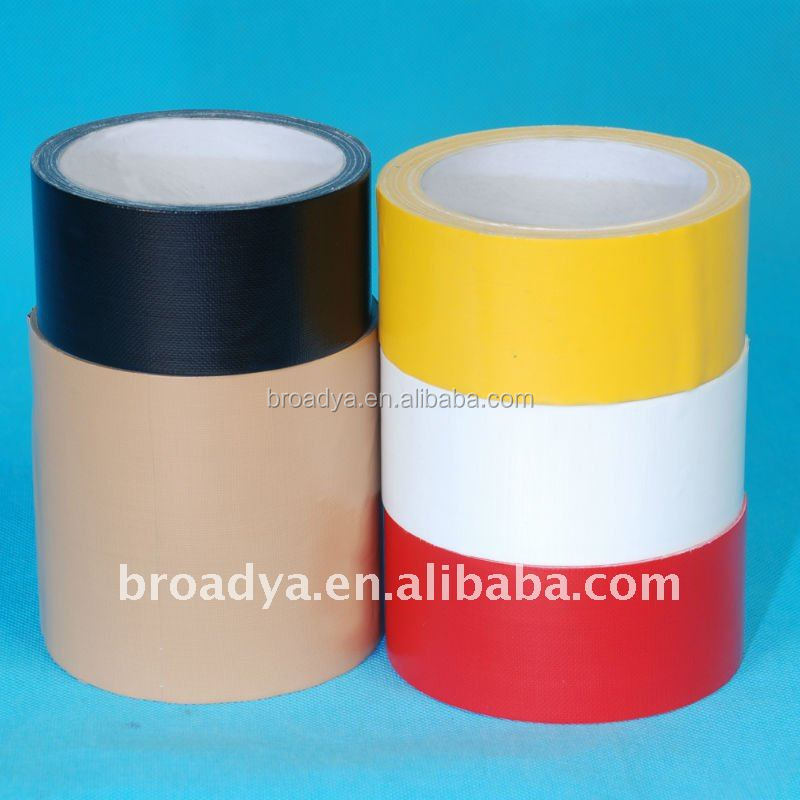 cheap price single sided adhesive reinforced flat duct tape