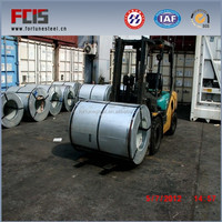 1020 cold rolled color coated galvanised steel coil