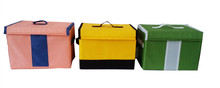 Fashion Organizer Bag Promotional Custom Foldable Polyester Fabric Storage Box