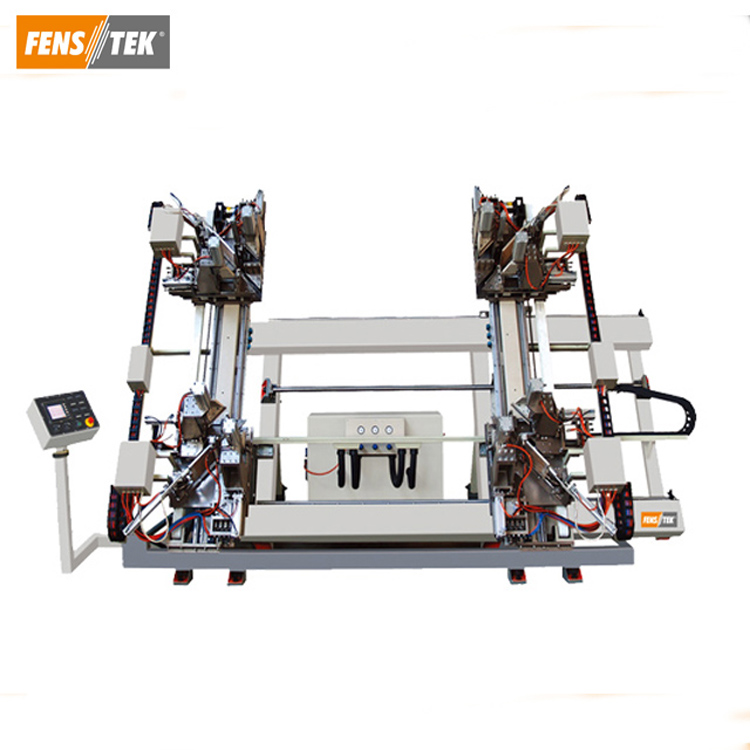 CNC Vertical 4 Point Welding Machine of PVC Window and Door Machine