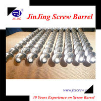 Extrusion Screw And Barrel For Plastic