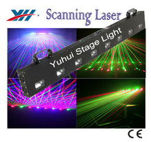 DPSS Diode 8 Heads Scanning Laser Show Light For Stage Lighting