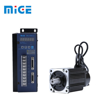 textile machine parts 90mm 750w 3000rpm servo motor