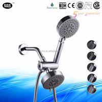 3-Way 2 in 1 Shower Combo - Overhead Shower Head and Handheld Shower with Hose