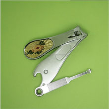 Best price newest designs functional wine bottle opener like nail clippers
