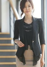 top quality , fashion lady's blazer for spring/autumn