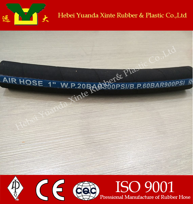 high pressure flexible 1 inch heat resistant water hose rubber pipe