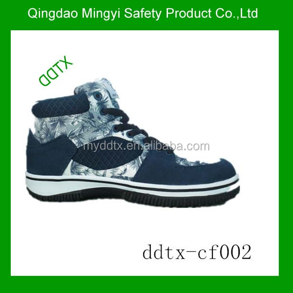 Industrial fashionable safety boots steel toe