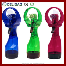 Portable water cooling mist fans / personal water coolers for outdoor actitivities