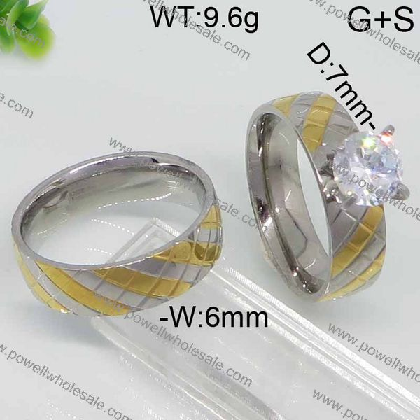 Good Quality Couple ring fashion reversible rings
