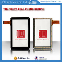 New oem spare parts tablet pc touch screen replacement for YTG-P10025-F1 flex code number XC-PG1010-005FPC