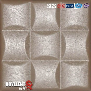 2015 new type 3d leather wall tiles