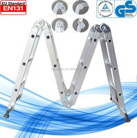 3.7meters en 131 multi-purpose aluminum ladder WK-103