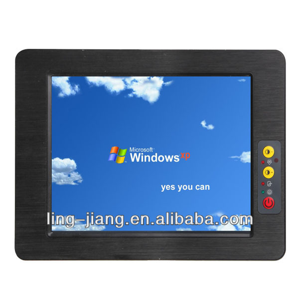 China manufacturer tablet pc waterproof ip65 industrial touch pc (PPC-150C)