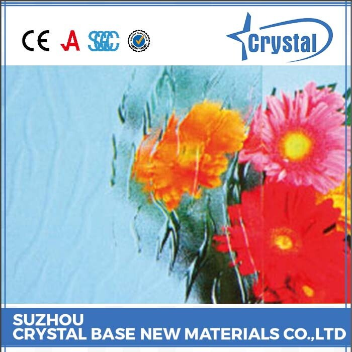 Onsite Checked Supplier Material Advanced Packaging Windows Figured Glass