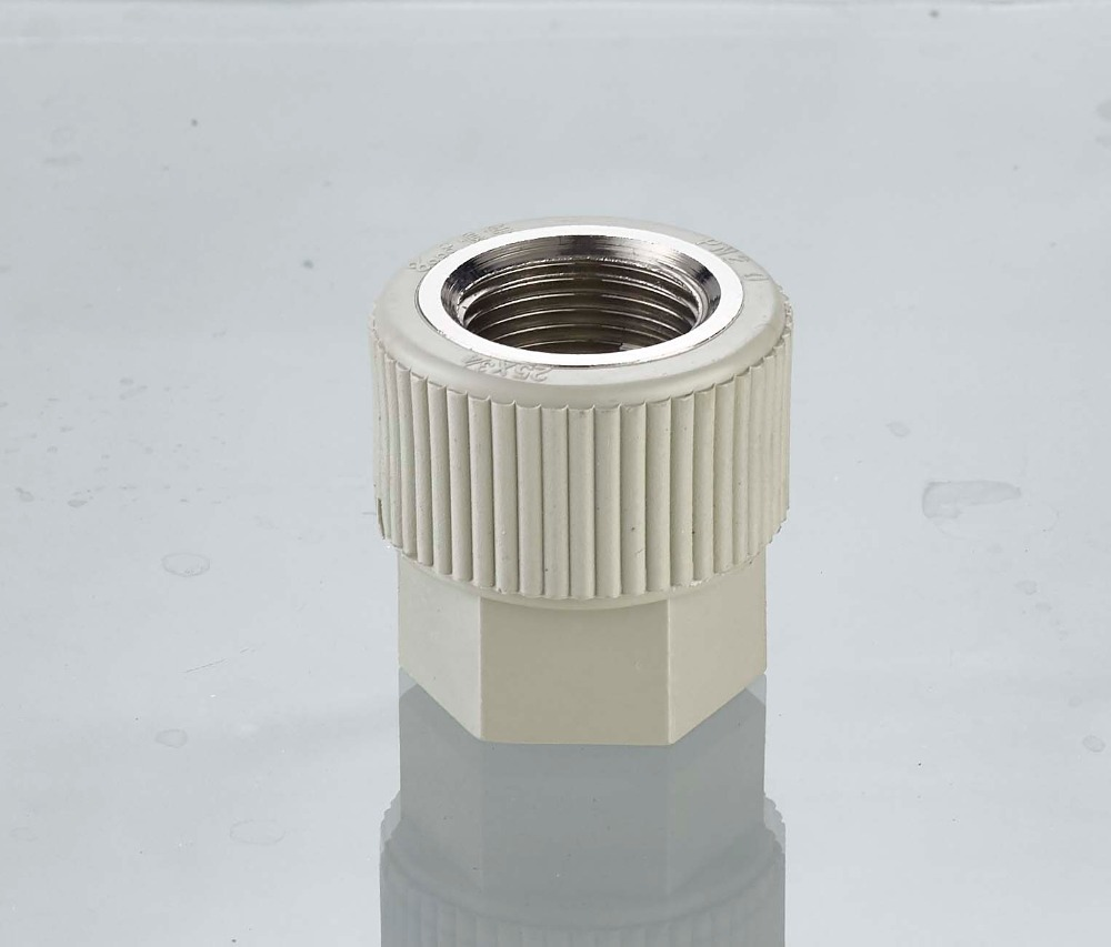 PP-R Plastic Female Threaded Coupling Pipe and fitting
