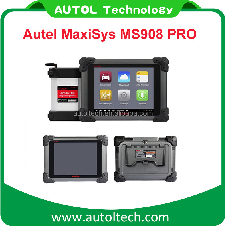 Dropship german auto diagnostic tool maxisys pro ms908p with ecu programming tool