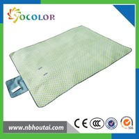 2 hours replied with handle strap disposable picnic blanket