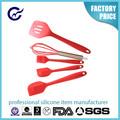 High quality novelty silicone kitchenwares,Colorful eco-friendly food grade colorful silicone kitchenware cooking utensils set