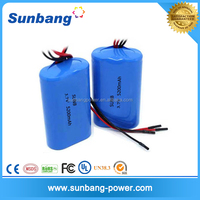li-ion 18650 3.7v 5200mah electric bike lithium battery single with line power tools electric instruments