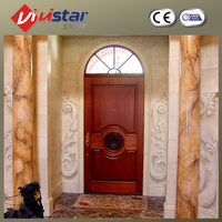 Indoor Outdoor Natural Marble Stone Gate Pillars
