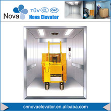 Out-dated Cargo Elevator Renovation/ Old Cargo Freight Elevator Modernization/Elevator Parts Replacement