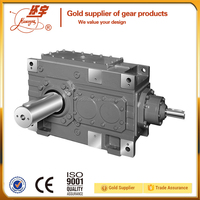 High Torque Industrial Helical Gearbox with Back-stop