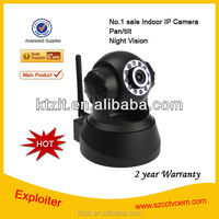Top No.1 Sale Indoor 300kp wireless p2p ip camera, night vision,2 way audio