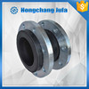 singe sphere with galvanized steel flange rubber isolating joint