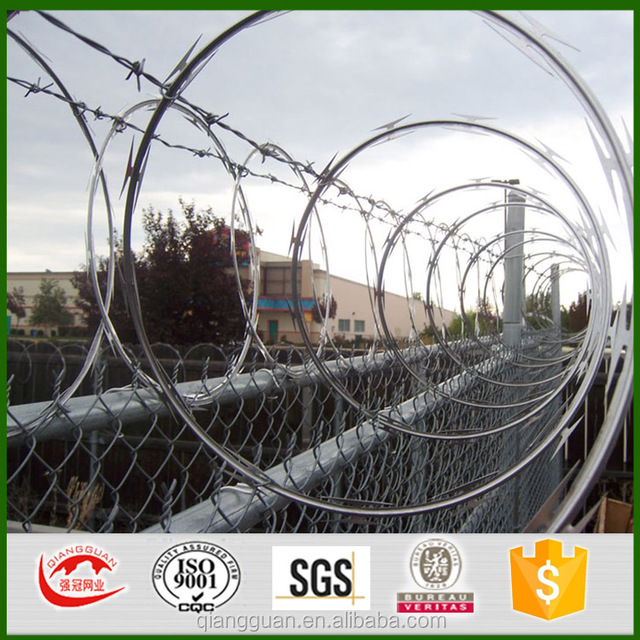 BTO28 concertina wire/razor barbed tape/Jamaica razor barb wire manufacturers