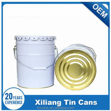 stainless steel bucket 10 liter with lid and handle for sale
