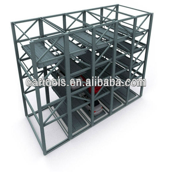 steel structure car park storage smart parking system