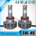 Easy installation 3000lm car led headlight H8 9005/hb3/9006/hb4/HIR 2 led conversion kit