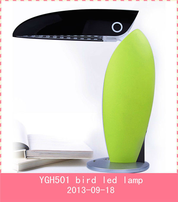 cartoon led reading lamp with time voice remind