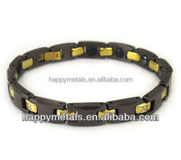 Fashion gold blood pressure bracelet(B1216-3)