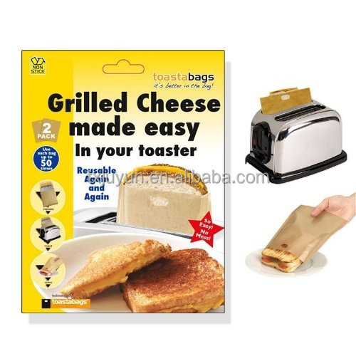 As seen on TV product - PTFE Reusable Toaster bag