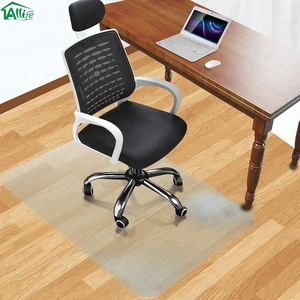 Allife 36 x 48 Inch Anti Slip PVC Desk Floor Protective Mats
