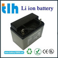 By A123 cell 30c discharge 12v li-ion battery for car starting