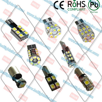 Hot sale t10 canbus led w5w lamp error free ba9s canbus led indicator lamp