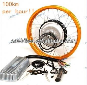 ebike kit 96v 5000watts electricmotor hub electric bicycle motor high quality super motor
