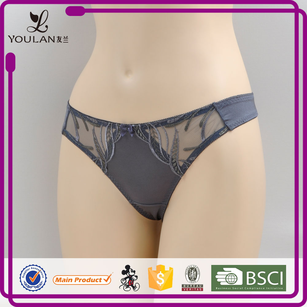 Japan Style Top Material Sweet Girl Spandex sexy transparent panty for girls