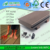 manufacture wood plastic composite WPC coextrude and embossed decking/floor
