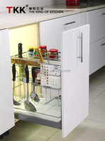 TKK Pull Out Kitchen Drawer Wire Basket
