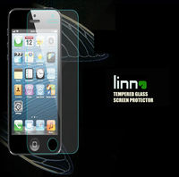 0.4mm tempered glass Anti shock screen protector for iphone4/4s with retail packeg Free shipping